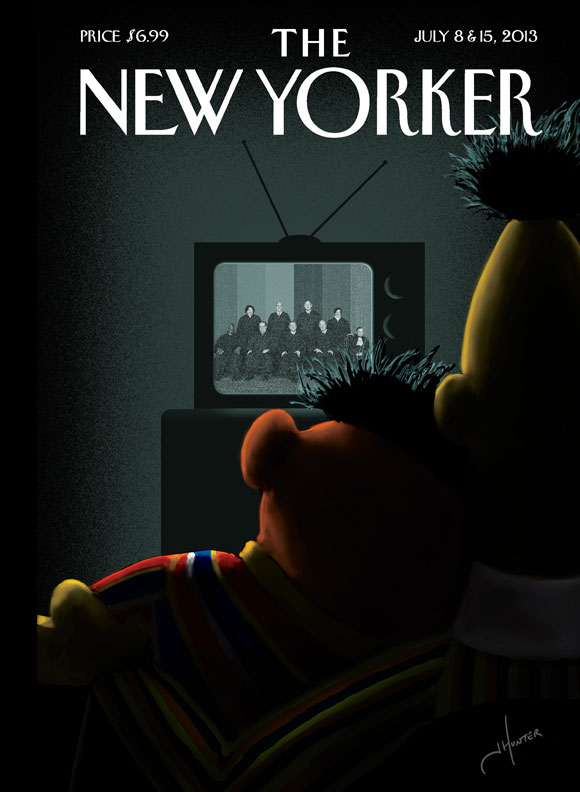 The New Yorker recognizes the power of imagery for marketing.