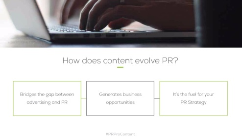 Content Marketing Evolves PR